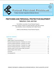 Pesticides and Personal Protective Equipment