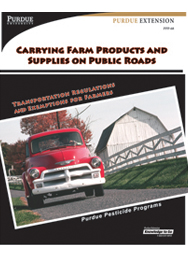 Carrying Farm Products & Supplies on Public Roads