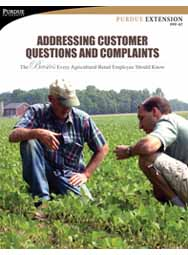 Addressing Customer Questions and Complaints: The Basics Every Agricultural Retail Employee Should Know