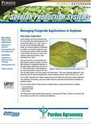 Managing Fungicide Applications in Soybean