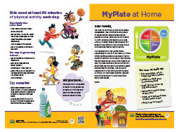 MyPlate at Home handout (100/pkg)