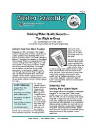 Drinking Water Quality Reports: Your Right to Know