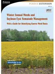 Winter Annual Weeds and Soybean Cyst Nematode Management