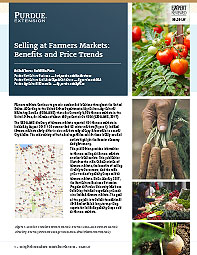 Selling at Farmers Markets: Benefits and Price Trends