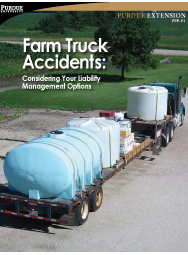 Farm Truck Accidents: Considering Your Liability Management Options